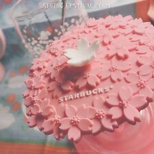New China 2017 Starbucks Limited Edition Sakura Cover 1pc