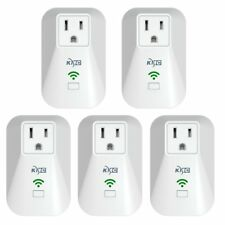 Kmc WiFi Mini Smart Plug with Energy Monitoring and Schedule Timer Function, No
