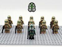 Star Wars Commander Gree Kashyyyk Clones Set 11 Minifigures Lot - USA SELLER