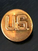 Vintage Collectible US Military Screw Metal Pinback Lapel Pin Hat Pin
