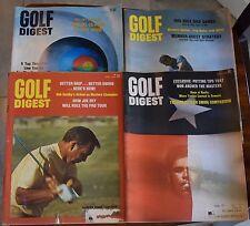 LOT OF (9) GOLF DIGEST MAGAZINES 1969 1977 1978 1983 NICKLAUS PALMER TREVINO