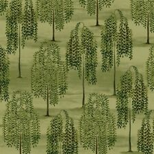 Windham Country Store by Betty Caithness 41276 3 Green Weeping Willow COTTON BTY