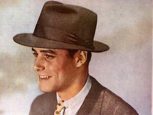 1948 Mallory Hats Soft Felt  Adman Distinctive Men Gentleman  Vintage Print Ad