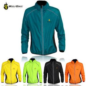 Cycling Jacket Windstopper Waterproof Cycling Sport Reflective Wind Coat Jersey