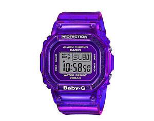Casio G-Shock Baby-G BGD560 Digital Resin Purple Skeleton Watch BGD560S-6