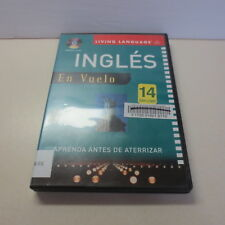 Living Language Ingles En Vuelo Aprenda Antes De Aterrizar compact Disc CD book