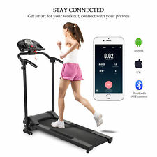 Folding Treadmill Electric Motorized Power Running Jogging Fitness Machine