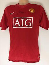RARE Sir Alex Ferguson Manchester United Signed Shirt + COA PROOF AUTOGRAPH 2008