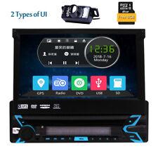 "7"" Capacitiva Pantalla táctil 1Din Autoradio DVD Bluetooth GPS Navi Estéreo +Cám"