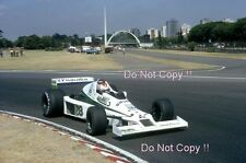 Clay Regazzoni Williams FW06 Argentine Grand Prix 1979 Photograph