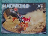 2002 Lego Bionicle MASTER BUILDER Set 10023 - Builds 15 models - 100% + Manual