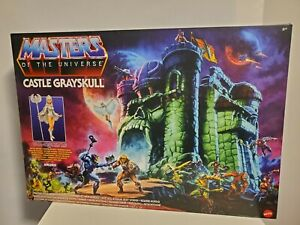 Mattel Master of The Universe Castle Grayskull & SORCERESS IN HAND