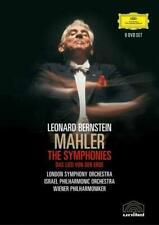 Leonard Bernstein: Mahler - The Symphonies - DVD Boxset NEW