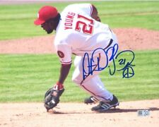 Dmitri Young Nationals Autographed 8x10 Photo with MLB Authentication
