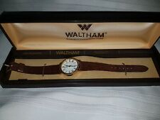 UNISEX VINTAGE WALTHAM SWISS MADE QUARTZ WRISTWATCH - NEW old stock