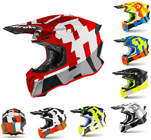 Airoh Twist 2.0 Frame Helmet Off Road Motorcycle Motorbike Motocross Enduro MX