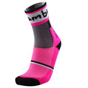 Cycling Socks Bike Racing Riding Tri MTB Pro BmambasX Team Long Calf Bike Socks
