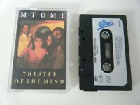 MTUME THEATER OF THE MIND CASSETTE TAPE 1986 PAPER LABEL EPIC CBS