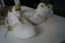 Nike Zoom Quick deporte señora fitness aerobic zapatillas zapatos talla 41 blanco amarillo #2