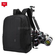HUWANG Padded Camera Bag Outdoor Photography Travel Backpack for Canon DSLR O7T1