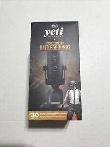 Blue Yeti USB Microphone Blackout + PlayerUnknown's Battlegrounds Bundle Sealed