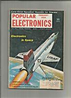 Popular Electronics February 1959 - Electronics in Space, Hi-Fi Circuit Design