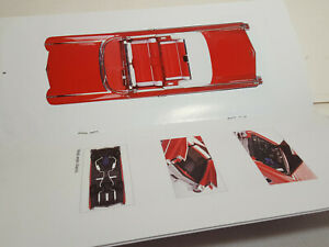 Part 1:18 AUTOART 70401 Cadillac Series 62 Red 1959 - Manual Book