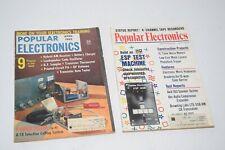 Vintage April 1962 & July 1974 Popular Electronics Magazines
