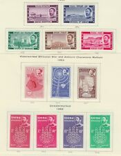 ETHIOPIA 1947-64 MINT H SC #278-80, 391-5, 403-8, 415-24, 428-38 GROUP CAT $50.2