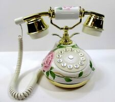 Hentak Limited Telephone Romantic Roses Land Line Princess Victorian Pink  #E301