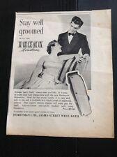 L1-7 Ephemera Advert 1956 Stay Well Groomed Wth The Harlequin Horstman Ltd Bath