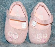 Toddler Shoes Teeny Toes Size 3 Pink Cloth Dress Shoes
