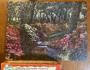 Puzzle Tuco Vintage Interlocking Picture Jigsaw Natures Fairyland 350 Pc  E1
