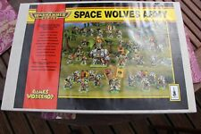 Games Workshop Warhammer 40k Space Wolves Wolf Army 1990s Boxed Battalion Set