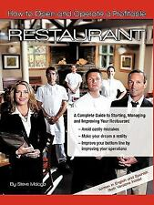 How to Open and Operate a Profitable Restaurant by Steve Malaga (2010,...
