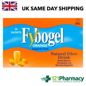 Fybogel Orange Sachets NATURAL FIBRE 1 - 60 sachets Constipation Relief