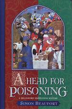 A Head for Poisoning-Simon Beaufort-1st Ed./DJ-2nd Geoffrey Mappestone-1999