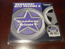 LEGENDS KARAOKE CD+G BROADWAY HITS VOL 8 NEW