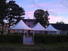 Pagode Gastrozelt Lounge Festzelt Partyzelt 8eck 53m² Farbe nach Wahl