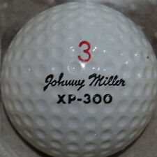 (1) JOHNNY MILLER SIGNATURE LOGO GOLF BALL (WILSON XP-300 CIR 1972) #3