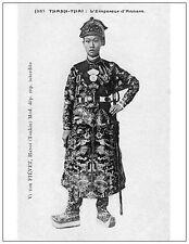 Vietnam - Nguyen's Dysnasty - Emperor Thanh Thai. Reproduction Postcard. Unused.