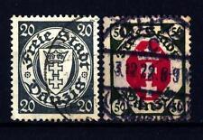 GERMANY - GERMANIA-LIBERA CITTÀ DI DANZICA - 1921-1935 - Stemma