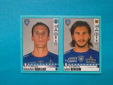 Panini Foot 2016-17 n. 70-71 Sebastien Squillaci, Julien Benhaim, Bastia