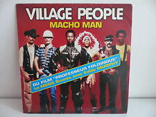 "MAXI 12"" VILLAGE PEOPLE Macho man BO Film Professeur Foldingue 192239 1"