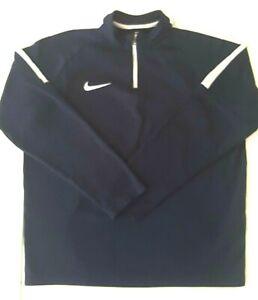 Nike Kids Boys Dri Fit Academy Navy Training Top Unisex Youth XL 13-15Yrs