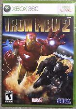 """Brand New"" Iron Man 2 (Microsoft Xbox 360, 2010) Factory Sealed, Unused."