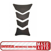 Fibra di Carbonio Etichetta Tank Pad Moto Serbatoio Protettore Per Motociclo 3D