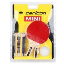 Mini Tischtennis Set Schläger Paddel Ball Netz Kinder Spaß Indoor Outdoor D4