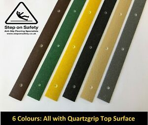 Anti Slip Decking Strips for Slippery Timber Decking, Paths & Wheelchair Ramps