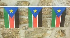 South Sudan Flag Polyester Bunting - Various Lengths